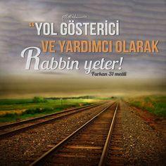 Resimli Dini Sözler Allah Islam, Quran Verses, Travel Advice, Islamic Quotes, Karma, Amen, Faith, History, Rock