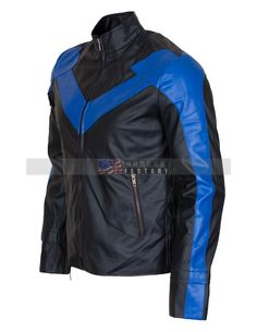 Dick Grayson Nightwing Leather Jacket Online Sale Usaleatherfactory web Store is particularly based on leather jacket that's why we are now offering especially for men customers the Dick Grayson Nightwing leather Jacket. This jacket is...