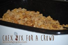 Chex Mix for a Crowd