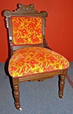 Eastlake Rocking Chair 1860 S Walnut Expertly