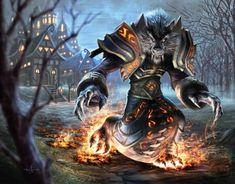 savis_cindur600_470, Fantasy creatures, werewolf