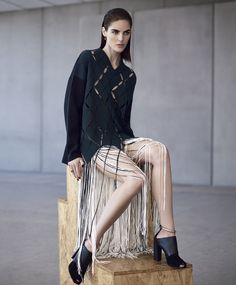 Hilary Rhoda by Nathaniel Goldberg