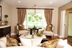 Buffalo Grove Home - traditional - living room - chicago - by Eclectic Design Source