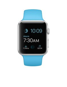 Wearable Apple Watch Sport 42 mm Silver Blue in offerta su Unieuro - Discover wearable watches here to find smart gear and wearables which actually work with your lifestyle at: topsmartwatchesonline.com