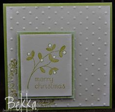 Easy Events Card by Stampin' Up! Demonstrator Bekka Prideaux