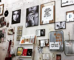 wall Inspiration at LaMaisonPernoise concept store ©CASALIL
