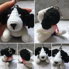 Pippa the Puppy Keyring Pattern - Handmade Crochet Amigurumi