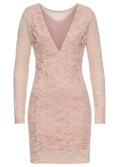 3397f4edc7 Sukienka wieczorowa z koronką • bladoróżowy • bonprix sklep Butik