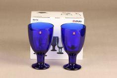 Iittala Verna lasit, 22 cl, 2 kpl, Kerttu Nurminen ... Cl, Wine Glass, Tableware, Dinnerware, Tablewares, Dishes, Place Settings, Wine Bottles