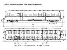 Přípojné vozy na našich kolejích: řady 020, 021, 022 :: VLAKY.NET