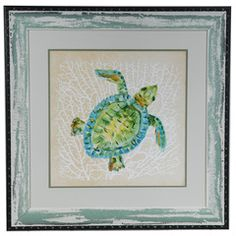 Sealife Turtle, Crestview Collection, Framed Print Collection