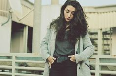 Abrigo/Coat Pull&Bear - Old Jersey/Sweater - Old  Jeans Mango - Old
