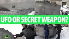 Mysterious Giant Titanium UFO Fragment Falls In Siberia