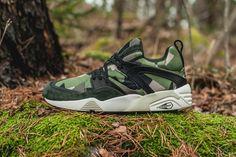 Puma x Sneakersnstuff Swedish Camo Pack