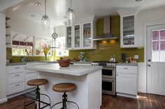 Kitchen remodel from HGTV's House Hunters Renovation.