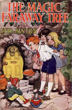 Much of my childhood was spent with my head up in the clouds above the Faraway tree . thanks to this series by Enid Blyton. Even as an adult I harbored fantasies of creating a Magic Faraway Tree theme park. Good Books, My Books, Story Books, Enid Blyton Books, The Big Read, The Magic Faraway Tree, Children's Book Illustration, Illustration Children, Illustration Styles
