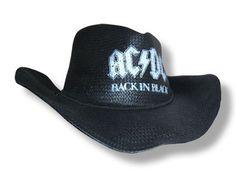 "AC/DC ""Back in Black"" - Cowboy Hat"