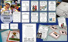 Super fun, engaging activities to build the community in your classroom!