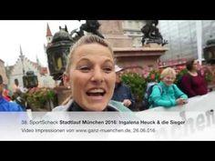 38. SportScheck Stadtlauf München 2016: Ingalena Heuck & die Sieger