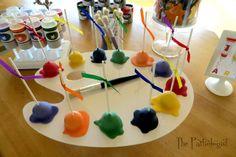 The Partiologist: Art Class!