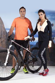 001431a716e3 Ouseuse OU Lingerie · Fitness · camiseta em tecido walk strech e bermuda  ciclista masculina - blusa manga longa em tecido com
