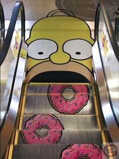 Great escalator print
