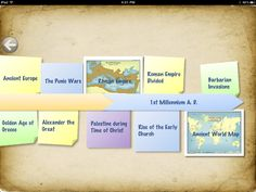 Learn about the ancient world through maps, photos and quizzes