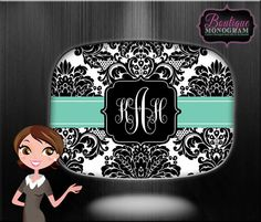 Custom Serving Platter & Plates, Monogrammed and Personalized Tray and Plates on Etsy, $19.99