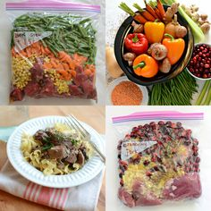 10 Quick and Healthy Freezer to Slow Cooker Meals (NO prep cooking needed!)   Healthy Ideas for Kids