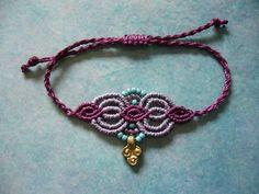 Flechtarmbänder - * Makramée-Armband * - ein Designerstück von crochet bei DaWanda