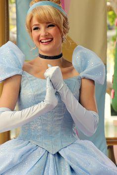 Cinderella park character