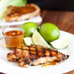 Grilled honey lime chicken - it will leave you speechless!