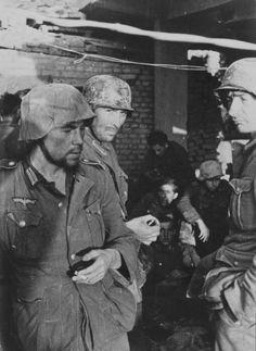 German soldiers. Stalingrad