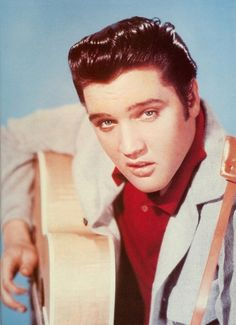 "Elvis Presley ""Loving you"". This picture was the main publicity still  for the movie. It was also  used for the jacket  cover of the ""Loving You"" album . Filmed in 1957 the same year I was born."