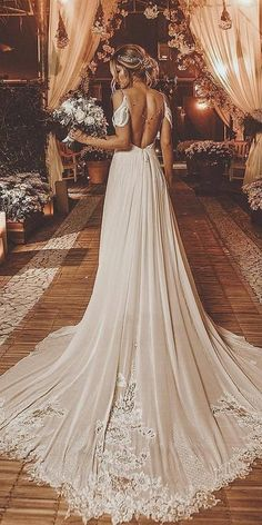 Wedding Dresses Vintage Mermaid reduced open up back wedding gowns.Wedding Dresses Vintage Mermaid reduced open up back wedding gowns Top Wedding Dresses, Wedding Dress Trends, Wedding Dress Sleeves, Long Sleeve Wedding, Bridal Dresses, Maxi Dresses, Modest Wedding, Boho Wedding Dress Backless, Dress Prom