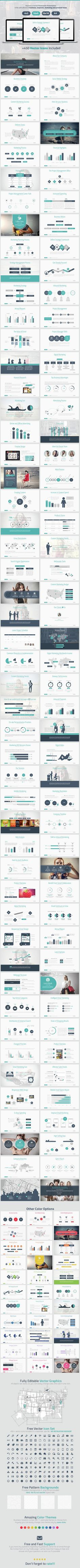 Marketing Strategy Powerpoint Presentation Template #slides Download here: graphicriver.net/...
