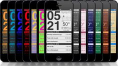 Don't leave your iPhone asleep on your desk, put it to good use with Work Time - Elegant desk top clock with calendar, weather, event, schedule, planner, short term forecast Hey You, Ios App, Are You Happy, Clock Work, Calendar, Desk, How To Get, Iphone, Elegant