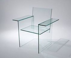 Transparent chair - interior decor