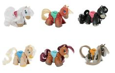 "Single blister ponies of ""Pet Parade"" from ""Giochi Preziosi"". Names top row left to right: ""White"" , ""Shetland"" , ""Blackfell"". Names bottom row from left to right: Palomino"" , ""Bay"" , ""Skewbald"". Pet Parade, Palomino, Walking By, Ponies, Baby Shoes, Names, Pets, Top, Baby Boy Shoes"