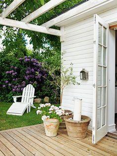 Casa de campo en Total White Nórdico en Chic