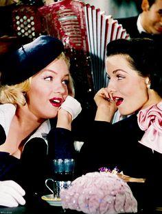 Image de Marilyn Monroe, retro, and Jane Russel