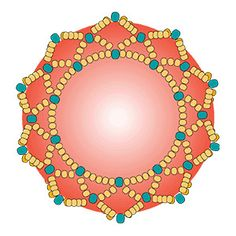 to make a netted bezel - Beading Techniques from Fusion Beads.How to make a netted bezel - Beading Techniques from Fusion Beads. Seed Bead Tutorials, Seed Bead Patterns, Beaded Bracelet Patterns, Beading Tutorials, Beading Patterns, Art Patterns, Loom Patterns, Painting Patterns, Bracelets