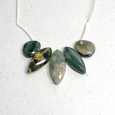 5pc Green Acrylic Rose Leaves Leaf dangle flower pendant charm bead findings