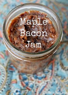 Maple Bacon Jam Recipe | Becca Piastrelli