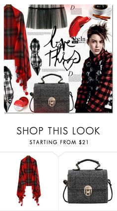 """""""SheIn 9"""" by barbarela11 ❤ liked on Polyvore featuring COVERGIRL, Anja, Winter, chic, Sheinside, winterstyle and shein"""