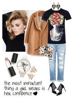 """How to wear boyfriend jeans"" by lera-chyzh ❤ liked on Polyvore featuring SUITEBLANCO, Genetic Denim, Lizzie Fortunato, Olivia Burton, Sigma Beauty, Lulu Frost and boyfriendjeans"