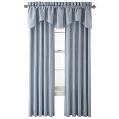 Royal Velvet® Supreme Pinch-Pleat/Back-Tab Thermal Window Treatments  found at @JCPenney
