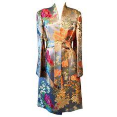 PEGGY JENNINGS Kimono Coat 1990s