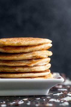 almond joy greek yogurt pancakesReally nice recipes. Every  Mein Blog: Alles rund um die Themen Genuss & Geschmack  Kochen Backen Braten Vorspeisen Hauptgerichte und Desserts # Hashtag