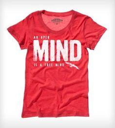 Free Mind Tee - Ladies